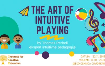 Umijeće intuitivne igre s Thomasom Pedrolijem, 21.12 u Zagrebu