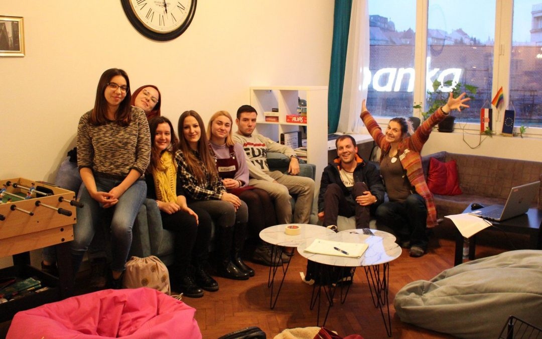 Održan prvi sastanak volontera u sklopu projekta Razumijem, mogu i hoću – osobni razvoj mladih u Hrvatskoj